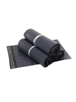 Size 35*52  cm -100pcs Packaging Plastic Bag Flyer(Grey)